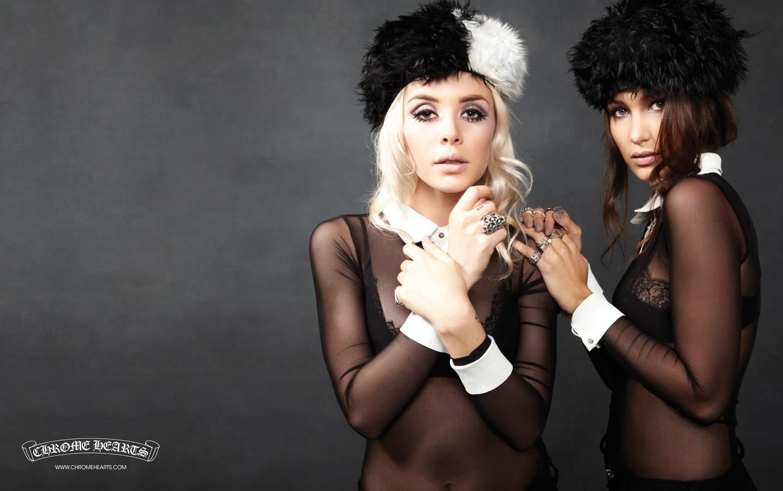 Lanna Lyon | Bella Hadid | Chrome Hearts | Photography by Laurie Lynn Stark