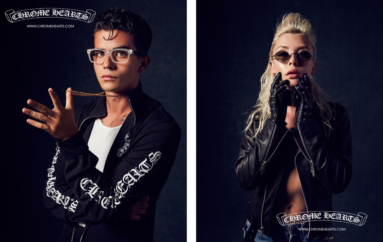 PAYDEN HAYES + LANNA LYON | FALL WINTER 2016 | CHROME HEARTS Photography by Laurie Lynn Stark