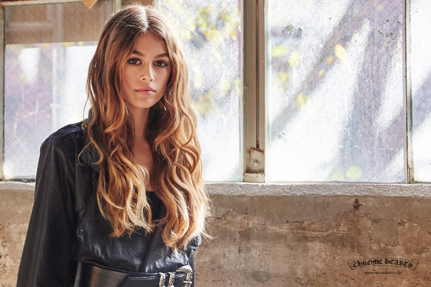 KAIA GERBER | CHROME HEARTS Photography by Laurie Lynn Stark