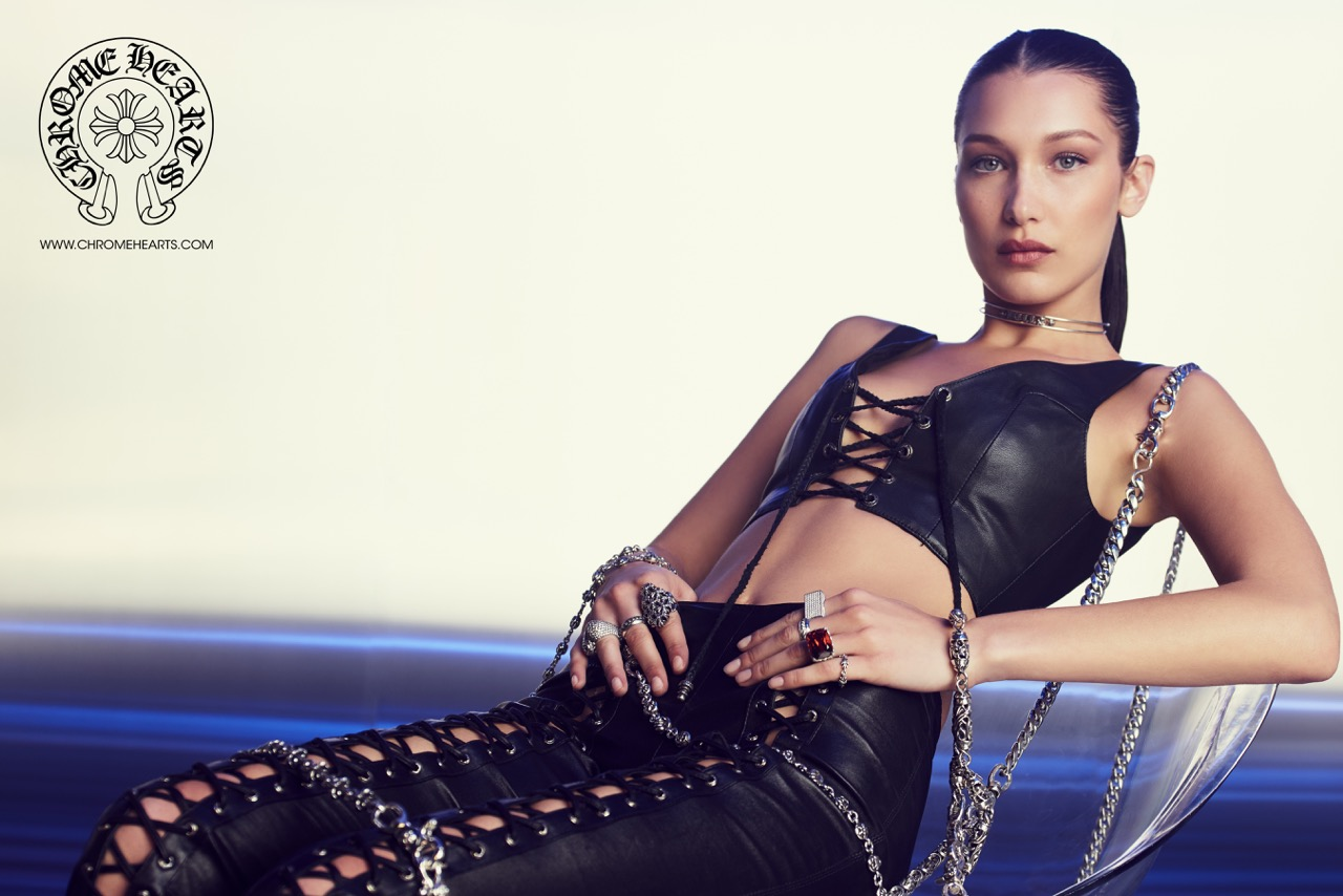 BELLA HADID | CHROME HEARTS Photography by Laurie Lynn Stark