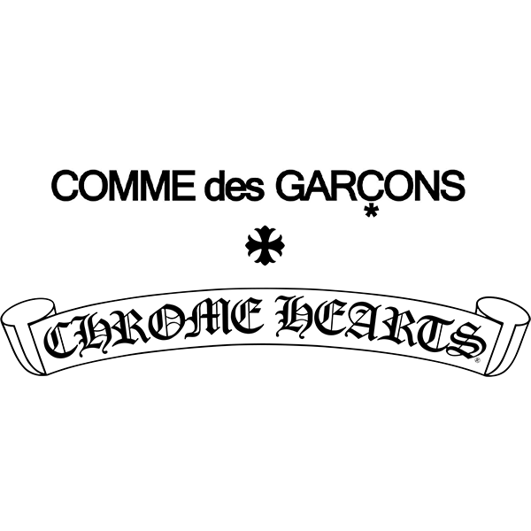 Comme Des Garcons and Chrome Hearts Logo