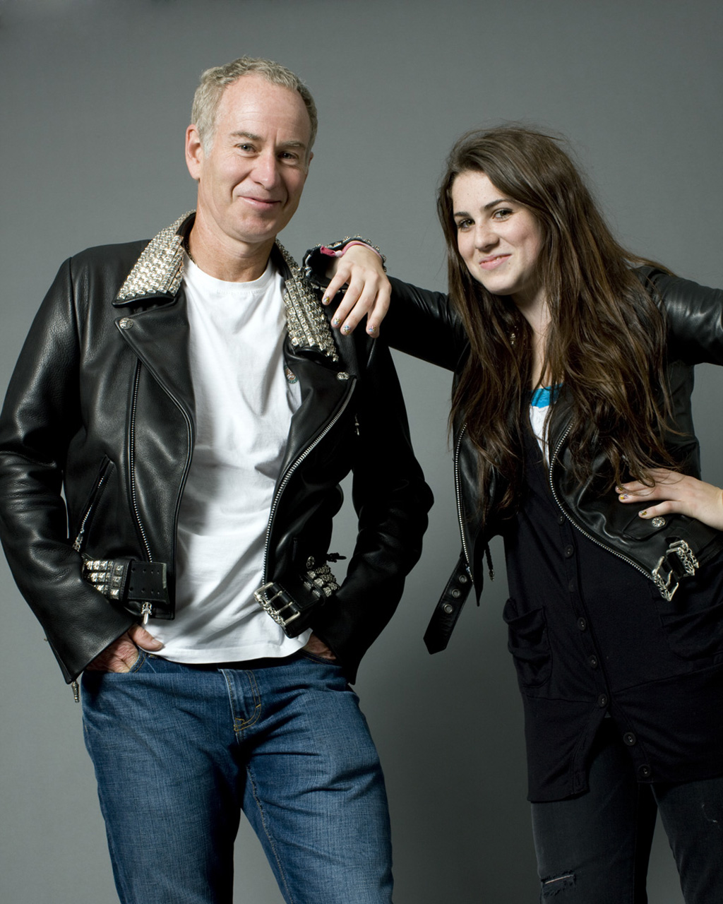 McEnroe Family John McEnroe Emily McEnroe Professional Athlete Tennis Legend Daughter