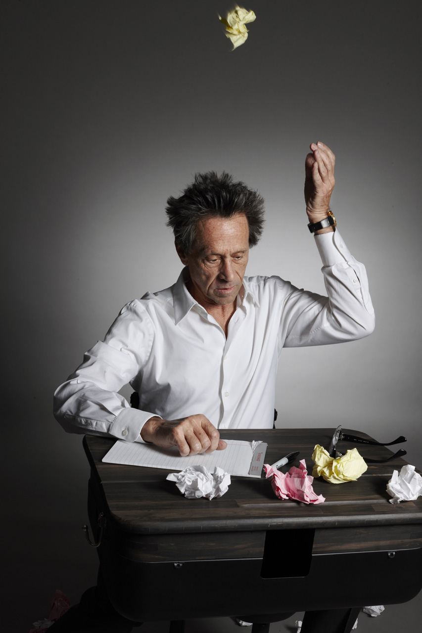 Brian Grazer Chopping Food